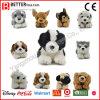 Do brinquedo Lifelike animal macio do luxuoso do brinquedo do cão cão de encontro enchido realístico para miúdos