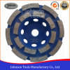 105mm Double Row Cup Wheel pour Stone