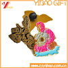 Zinc Alloy 3D Metal Soft Enamel Badge of e Lapel Pin, Custom Promotion Gift (YB-HR-391)