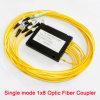 Divisor da fibra óptica da manutenção programada G652D Gpon 1X4 1X8 1X16 1X32 1X64 FC/Sc PC/APC