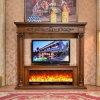 Camino elettrico europeo del MDF della mobilia TV della scultura domestica del basamento (326B)