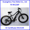 脂肪質のタイヤの車輪が付いているDorado Myatu Ebikeのバイク