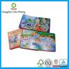 Niños de encargo de la tarjeta de la impresión que aprenden el libro