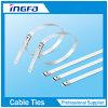 Einzelner Widerhaken-Verschluss-Typ Edelstahl-Kabelbinder