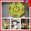 Paraguas caliente del revés del amarillo de la venta