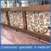 カスタマイザの青銅は屋内および屋外のためのパターンステンレス鋼の柵を切り分ける