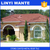 石の上塗を施してある金属の屋根瓦のガーナ様式