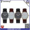 Yxl-572 2016 besitzen frei kundenspezifische Firmenzeichen-Mann-Quarz-Legierungs-Uhr alle Edelstahl-Geschäftsmann-Uhren