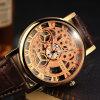 Relógio luxuoso de quartzo do negócio do relógio de esqueleto de 321 mulheres para a venda