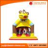 おもちゃ猿の膨脹可能なBoucyの城の警備員(T1004)を跳んでいる卸し売り子供