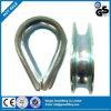 무거운 철강선 밧줄 골무 DIN6899 양식 Bgalvanized 의 골무