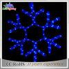 Luzes ao ar livre da corda do diodo emissor de luz do motivo da forma da estrela da decoração do Natal