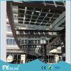 Fabricación del panel solar de BIPV con los certificados