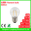 Glas LED Filament Bulb 2W (g45-2)