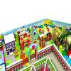 Розовое оборудование спортивной площадки детей тематического парка крытое