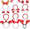Las cornamentas promocionales contemporáneas de la Navidad iluminaron Headwear