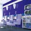 Azulejo agraciado del color de la púrpura pura para la decoración de la oficina (G016)