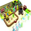 Campo de jogos interno macio das crianças da série dos doces