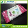 trapos mojados del animal doméstico no tejido disponible de la limpieza del 15*20cm