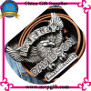 Anunciou Metal Belt Buckle com Customer 3D Logo