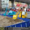 Механически землечерпалка спортивной площадки для малыша