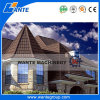 Colorer la tuile de toit en acier enduite en pierre, tuile de toit enduite par puce en pierre en métal, tuiles de toiture en aluminium enduites en pierre