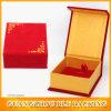 Caja de joyería magnética del terciopelo de la cartulina (BLF-GB504)