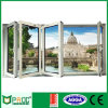 Glass Tempered Aluminum Sliding Folding Window e Door (PNOCBFW0002)