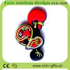 Cartoon Design (RC-R06)를 가진 Customized 자유로운 PVC Fridge Magnets Rooster Gifts