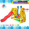 屋内運動場のウサギの形の子供のおもちゃの幼稚園の柔らかいプラスチックスライドの運動場(XYH12065-6)