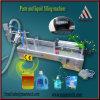 Máquina de rellenar semiautomática del líquido de lavado
