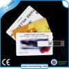 USB en plastique par la carte de crédit de carte d'USB de carte polychrome d'impression