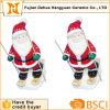 Papai Noel de esqui cerâmico para a decoração de Christams