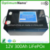Het navulbare 12V Pak van de Batterij LiFePO4 van 300ah voor het Systeem van de ZonneMacht