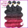 Extensões brasileiras do cabelo de Ombre da onda do corpo de Remy do Virgin das vendas quentes
