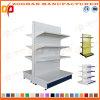 Doppia scaffalatura parteggiata d'acciaio personalizzata di lusso del supermercato della visualizzazione (Zhs512)