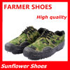 カムフラージュの陸軍訓練のズック靴の軍のキャンバスの品質の靴