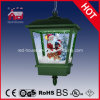 Estacional Nevar Papá Noel musical de Navidad lámpara colgante