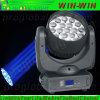 Ventes chaudes 19X12W RGBW 4in1 avec la tête mobile du zoom DEL