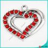 Tegenhanger van uitstekende kwaliteit van het Hart van Juwelen de Zilveren Kleur Gebroken