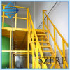 Corrimão industrial do balcão da escada da fibra de vidro de FRP