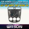 Witson Car DVD para a cidade de Honda Car 2008-2012 DVD GPS 1080P DSP Capactive Screen WiFi 3G Front DVR Camera