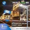Luz de calle solar integrada ligera al aire libre del LED con el sensor de movimiento