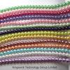 方法模造真珠はビード、緩いガラス真珠のビードの繊維、宝石類の調査結果のガラス真珠のビードを残す