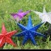 星の形のペーパーランプ