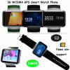 Android System WiFi Mobile Watch Phone avec fonction GPS (DM98)