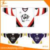 Vente en gros Custom Hockey Jersey Maillot de hockey sur glace de Sublimation européen avec broderie en sertis tackle