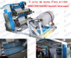 Deux machines en caoutchouc Rouleau Revovling 2 Couleur PP Woven Flexo Machine d'impression 2 couleurs Flexo Machine d'impression 2 Couleur PP Woven Sack Flexo Printing