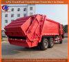 De op zwaar werk berekende 6X4 17cbm Vrachtwagen van de Pers van het Huisvuil van de Vrachtwagen van de Collector van het Afval van Sinotruck HOWO
