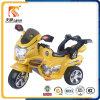 Автомобиль мотоцикла RC желтых малышей двойного привода электрический